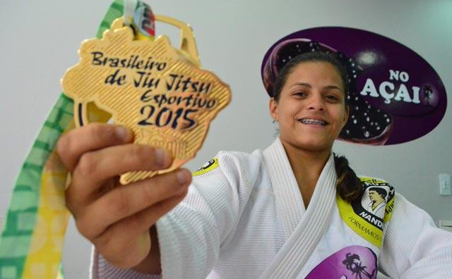 Amazonense volta com ouro do Brasileiro de Jiu-Jítsu