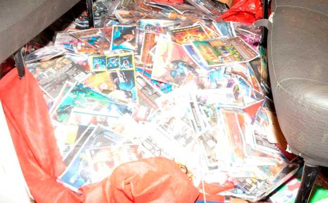 Prefeitura apreende 5 mil DVDs piratas no T3 e no Centro Histórico
