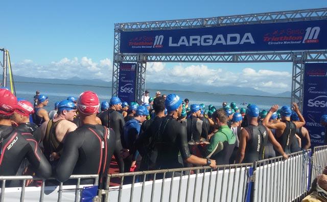Inscrições abertas para a etapa Manaus do Sesc Triathlon