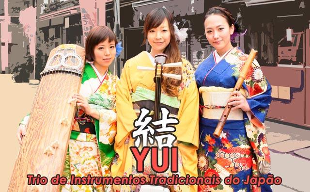 YUI e Trio de Instrumentos Tradicionais do Japão no Teatro Amazonas