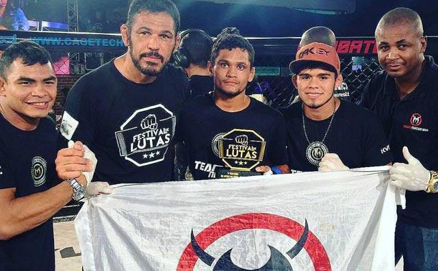 """Josiel """"Açougueiro"""" Silva brilha em evento de MMA no Rio de Janeiro"""