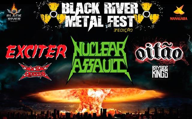 3ª edição do Black River Metal Fest, dia 23
