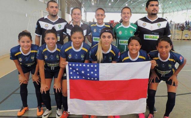 Amazonas goleia Amapá por 6 a 1 no Brasileiro Feminino de Futsal