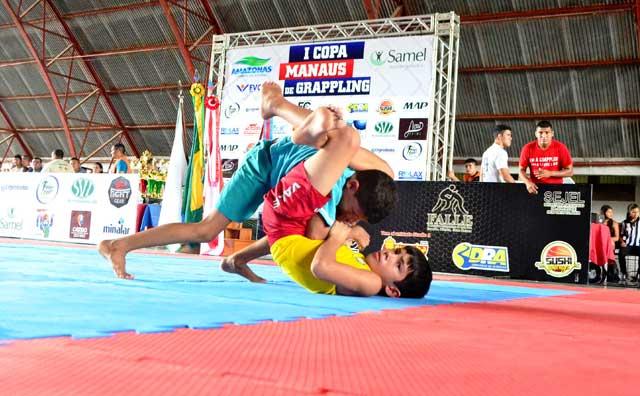 Vila Olímpica de Manaus recebe Copa FALLE de Grappling