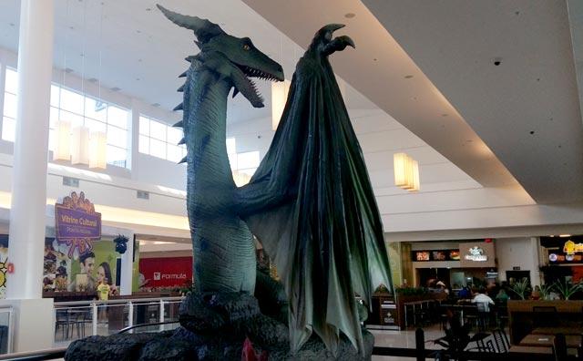 Dragões invadem o Shopping Ponta Negra em exposição internacional