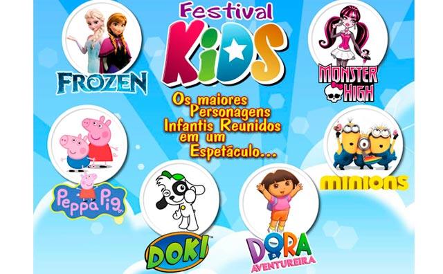 Festival Kids desembarca no Teatro Manauara, em outubro