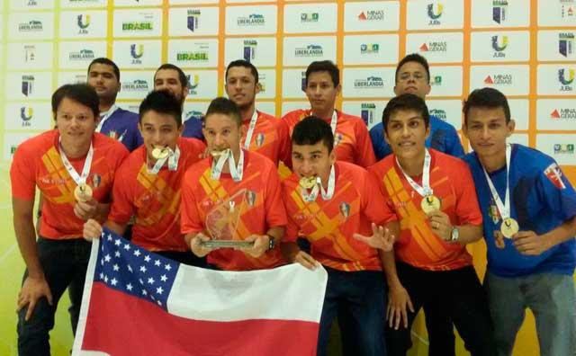 Amazonas é campeão do torneio de futsal em Uberlândia