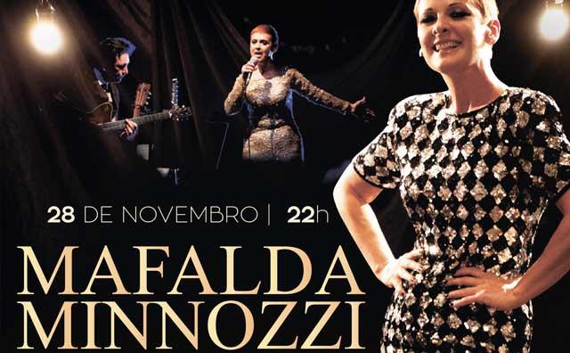 Mafalda Minnozzi apresenta novo show no Teatro Manauara