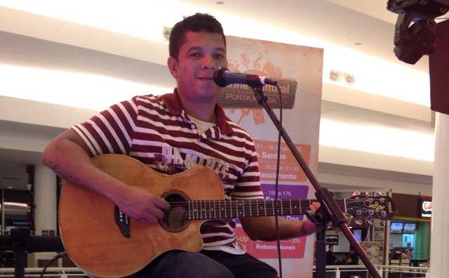 Marcelo Santos faz show especial dia 9, no Shopping Ponta Negra