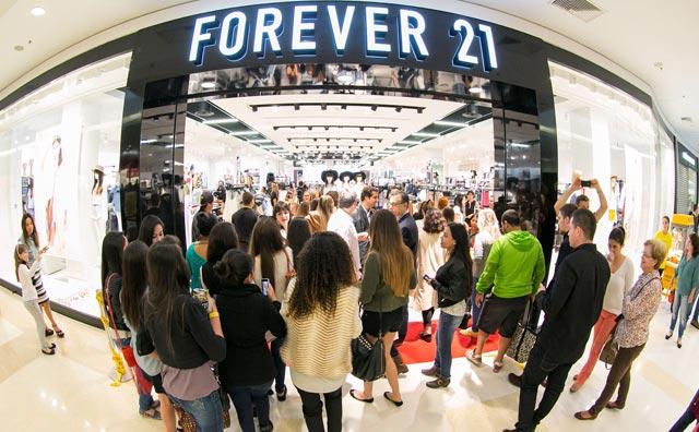 Forever 21 inaugura sua primeira loja na região norte