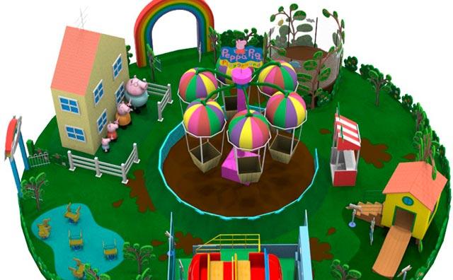 Amazonas Shopping inaugura evento exclusivo da Peppa Pig