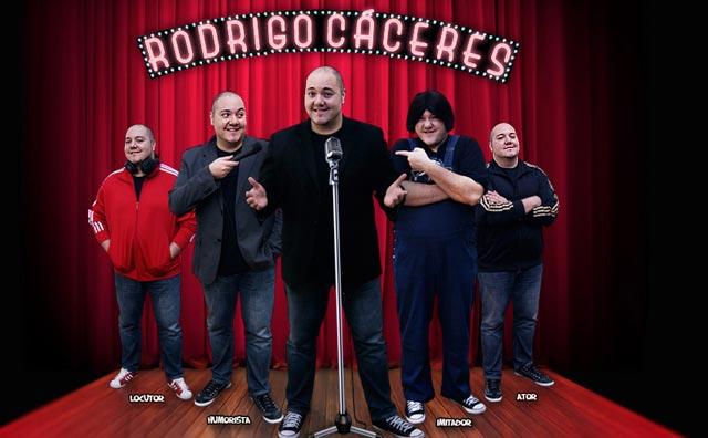 Rodrigo Cáceres é a atração do Stand-up, no Shopping Ponta Negra
