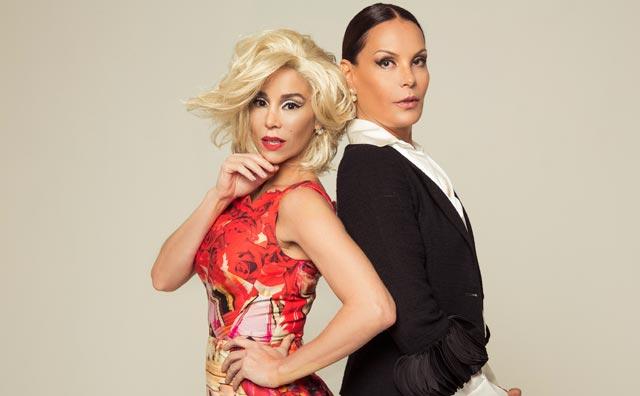 Danielle Winits & Carolina Ferraz na comédia Depois do Amor