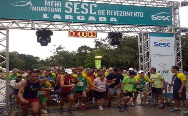 4ª Edição da Meia Maratona Sesc de Revezamento