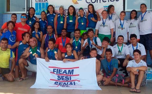 Atletas do SESI vencem no circuito de natação