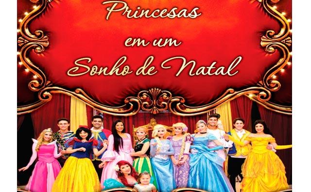 Sonho de Princesa apresenta Princesas em um Sonho de Natal