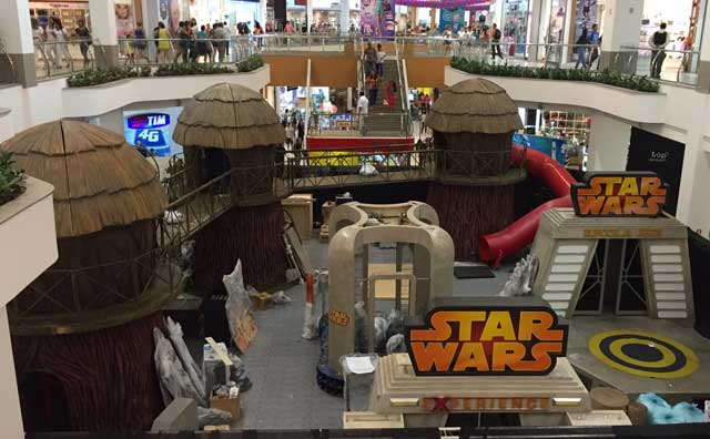 Parque Star Wars Experience no Amazonas Shopping